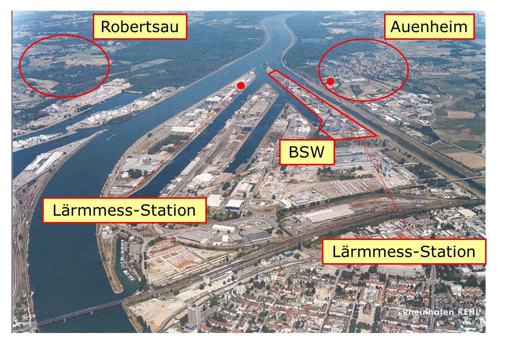 Robertsau Auenheim BSW Lärmmess-Station Lärmmess-Station