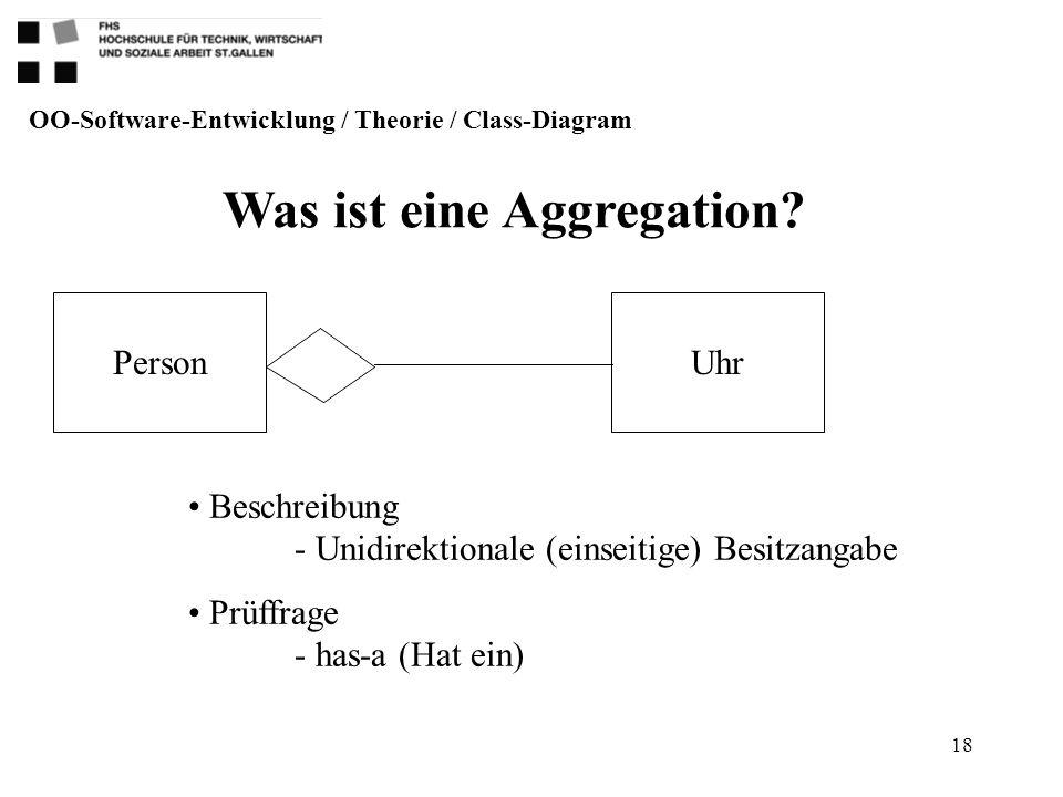 Was ist eine Aggregation