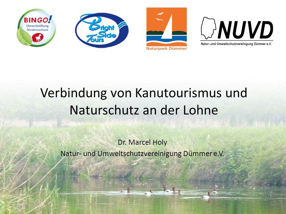 Verbindung von Kanutourismus und Naturschutz an der Lohne
