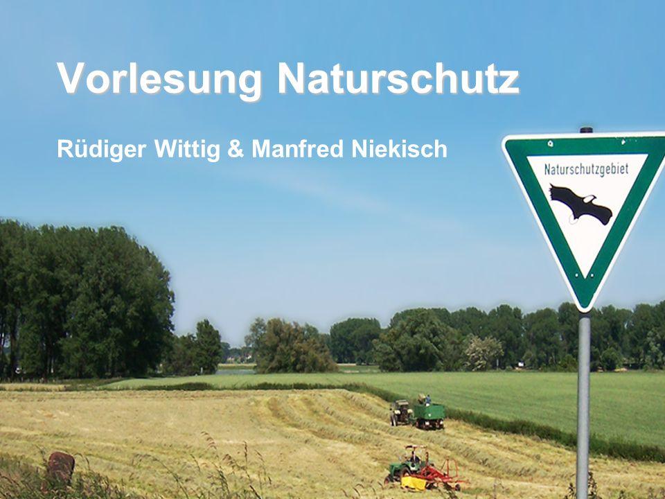 Vorlesung Naturschutz