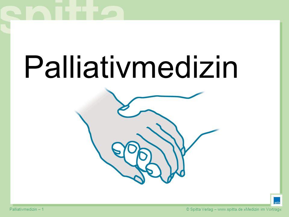 Palliativmedizin Palliativmedizin – 1