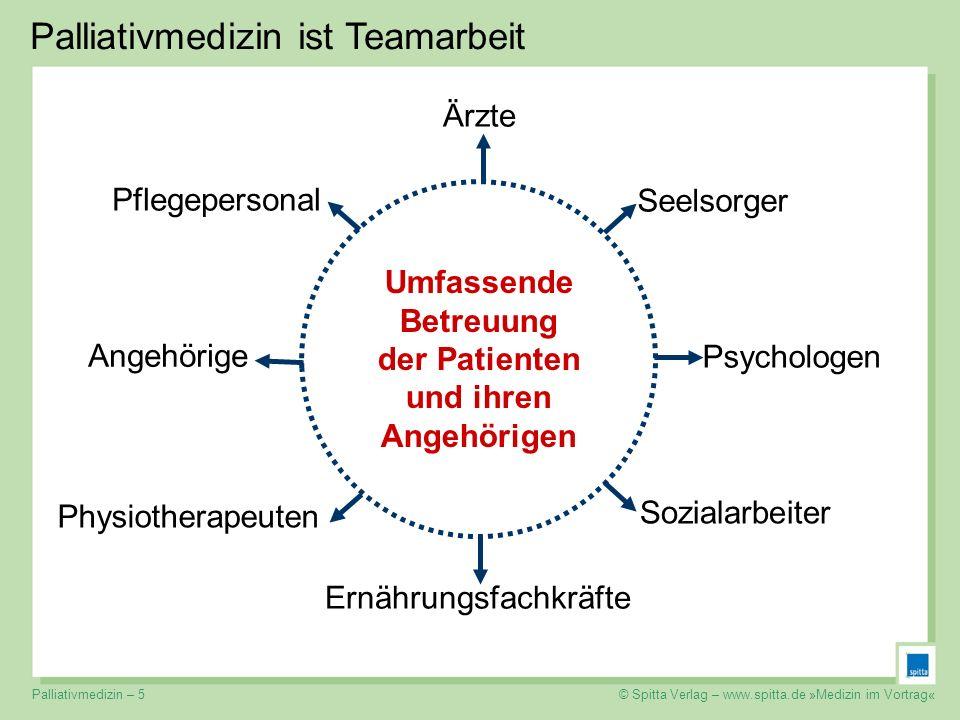 Umfassende Betreuung der Patienten und ihren Angehörigen