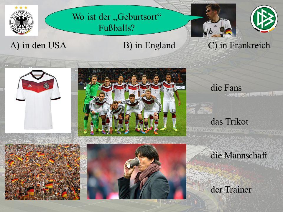 """Wo ist der """"Geburtsort Fußballs"""