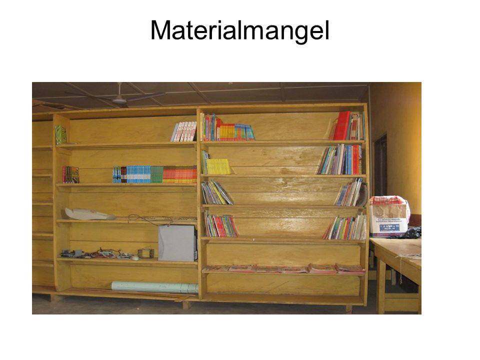 Materialmangel