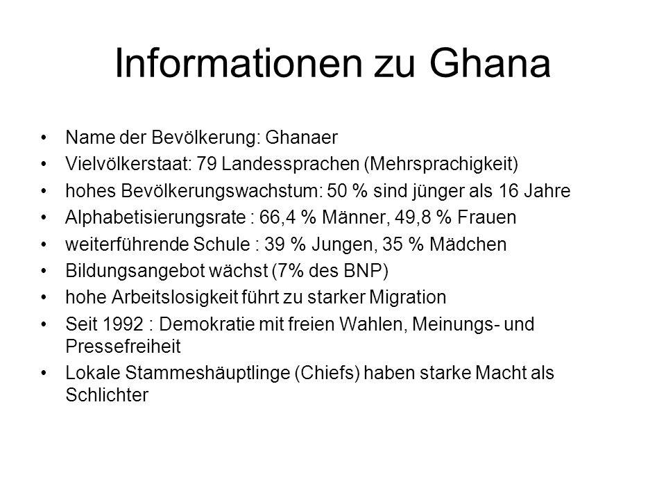 Informationen zu Ghana