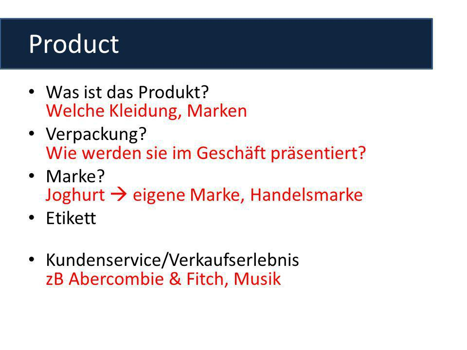 Product Was ist das Produkt Welche Kleidung, Marken