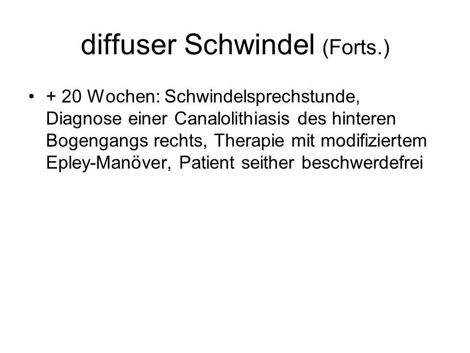 diffuser Schwindel (Forts.)