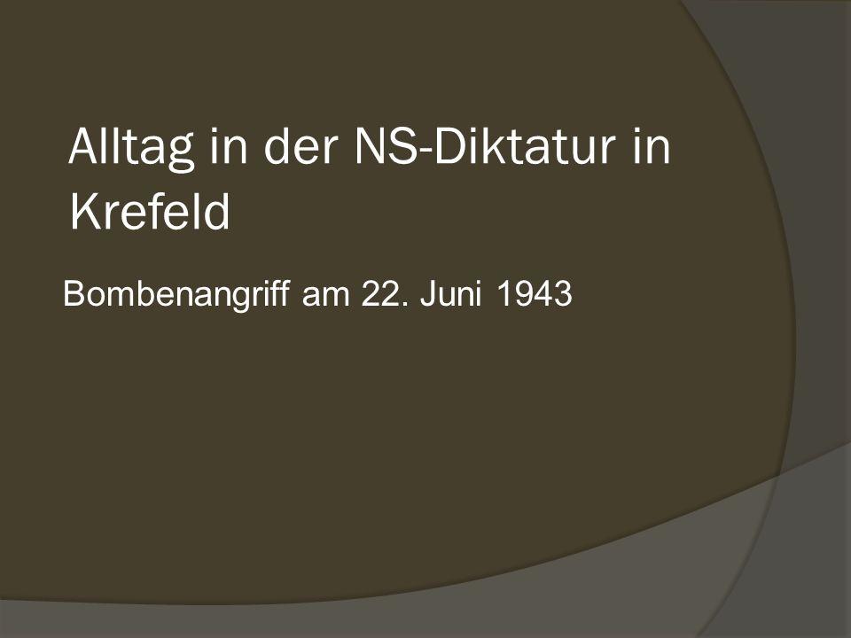 Alltag in der NS-Diktatur in Krefeld