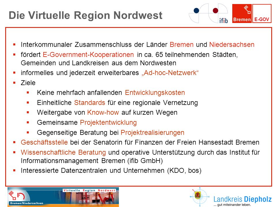 Die Virtuelle Region Nordwest