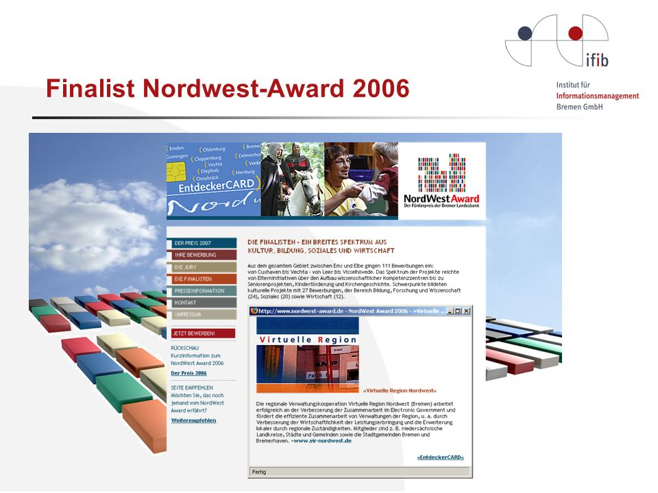 Finalist Nordwest-Award 2006