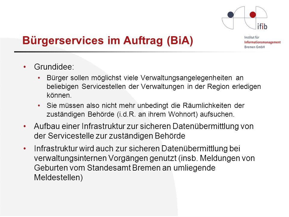 Bürgerservices im Auftrag (BiA)