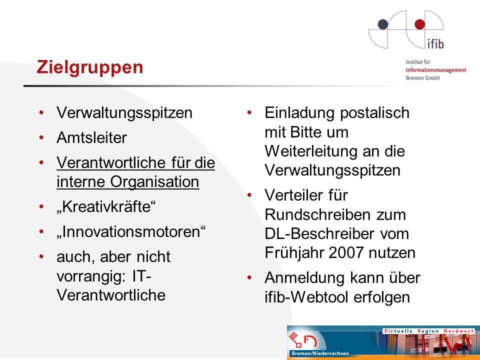 Zielgruppen Verwaltungsspitzen Amtsleiter