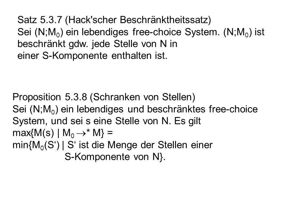 Satz 5.3.7 (Hack scher Beschränktheitssatz)