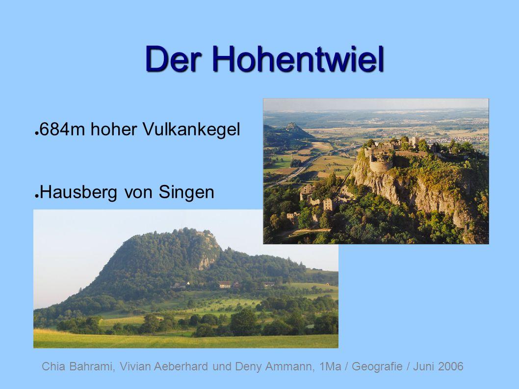 Der Hohentwiel 684m hoher Vulkankegel Hausberg von Singen
