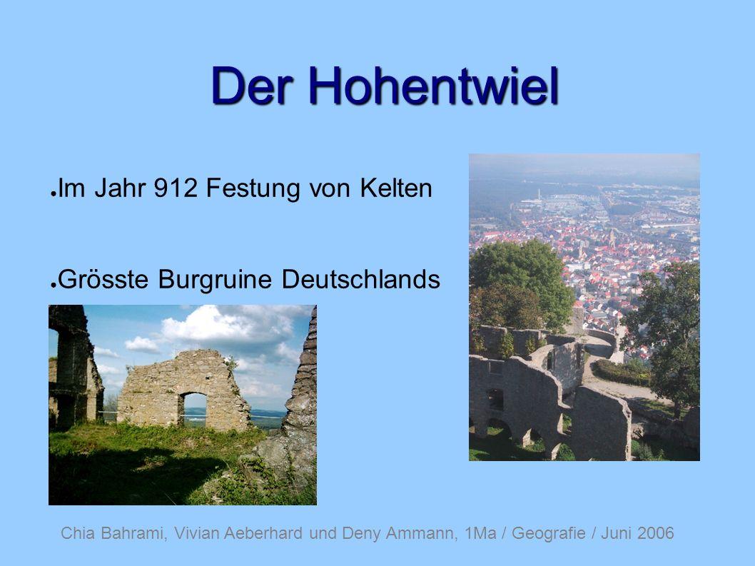 Der Hohentwiel Im Jahr 912 Festung von Kelten