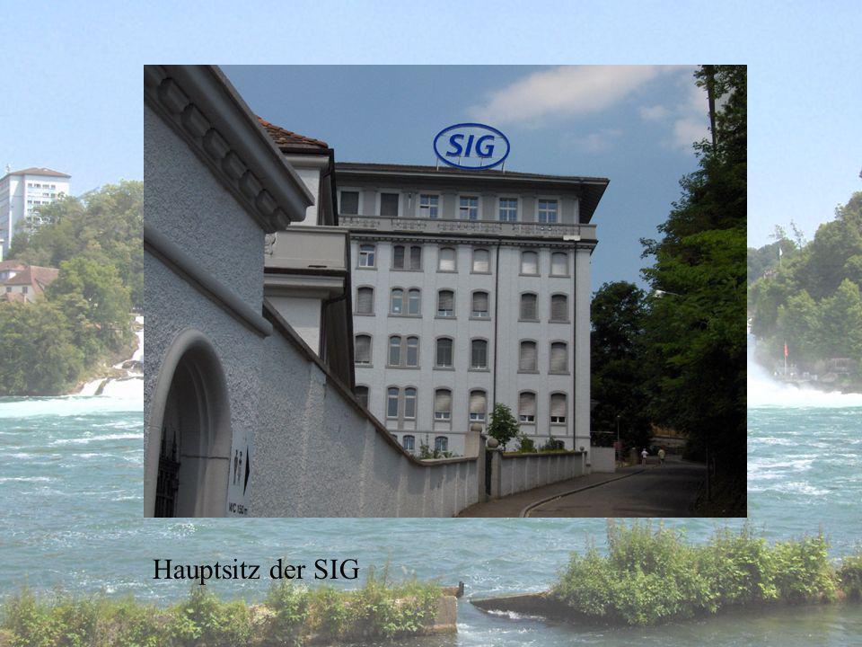 Hauptsitz der SIG