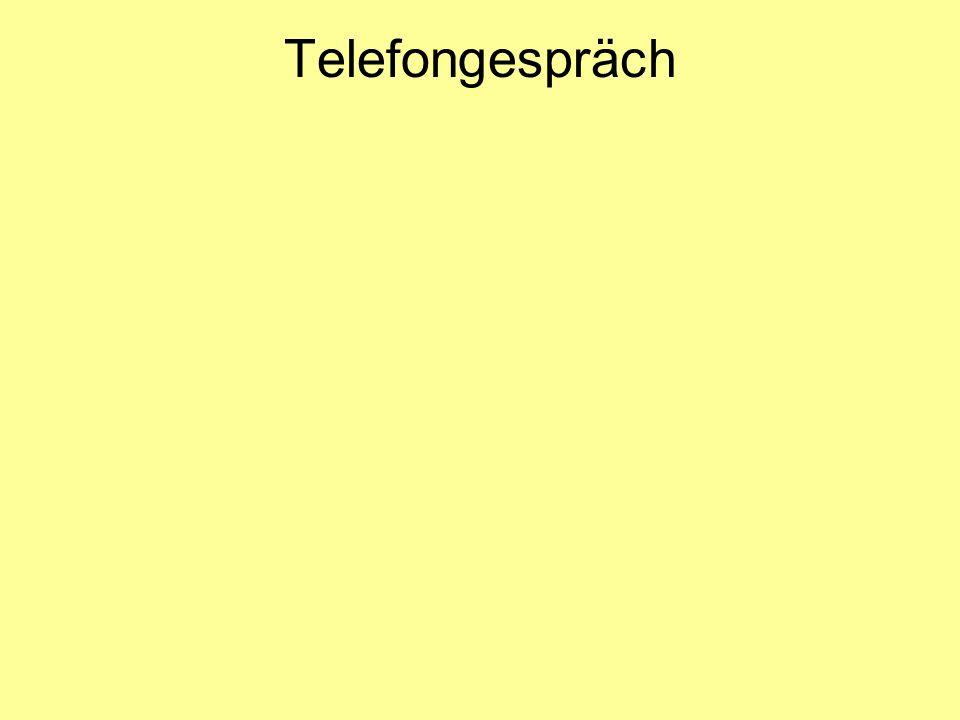 Telefongespräch