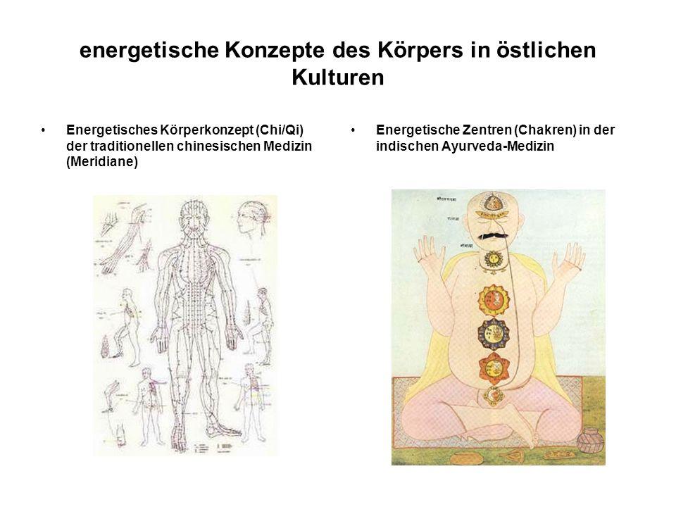 energetische Konzepte des Körpers in östlichen Kulturen
