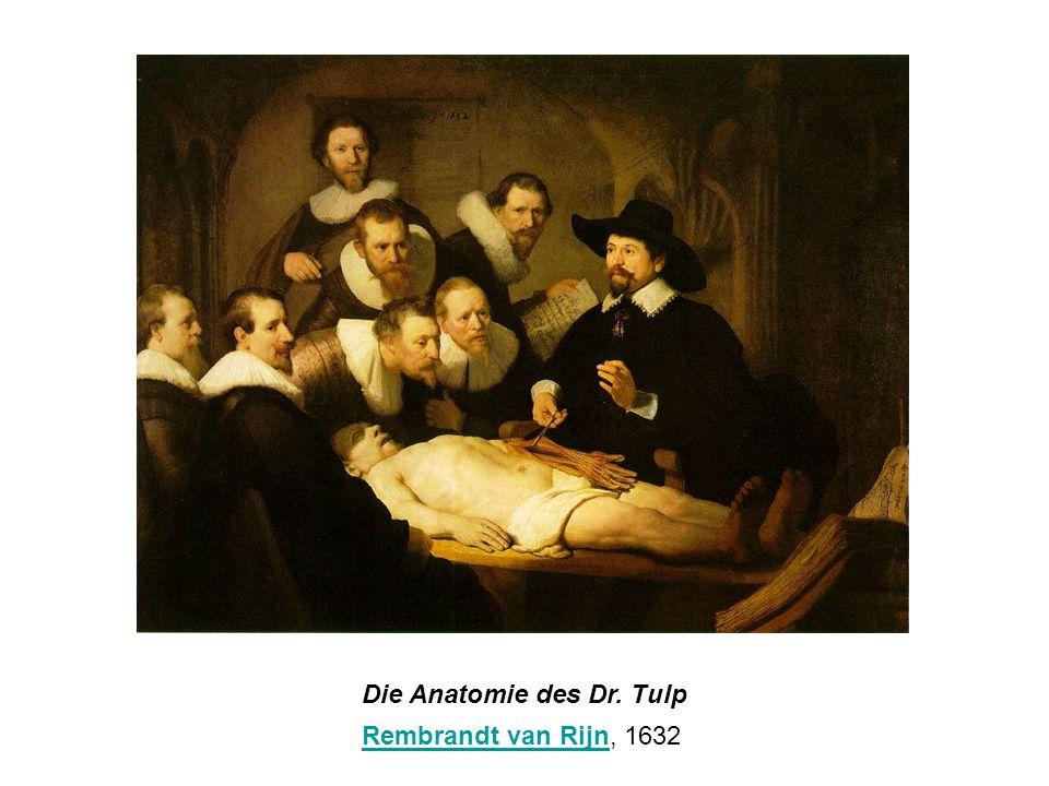 Die Anatomie des Dr. Tulp