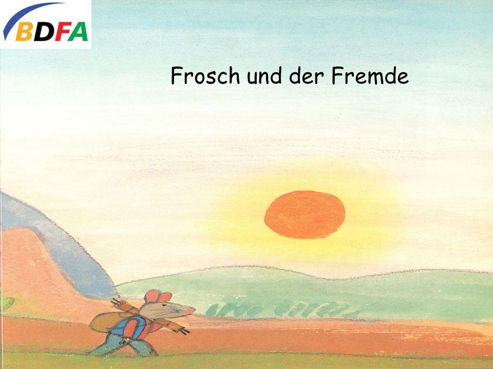 Frosch und der Fremde