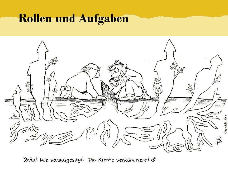 Rollen und Aufgaben © ELKB – Bernd Brinkmann