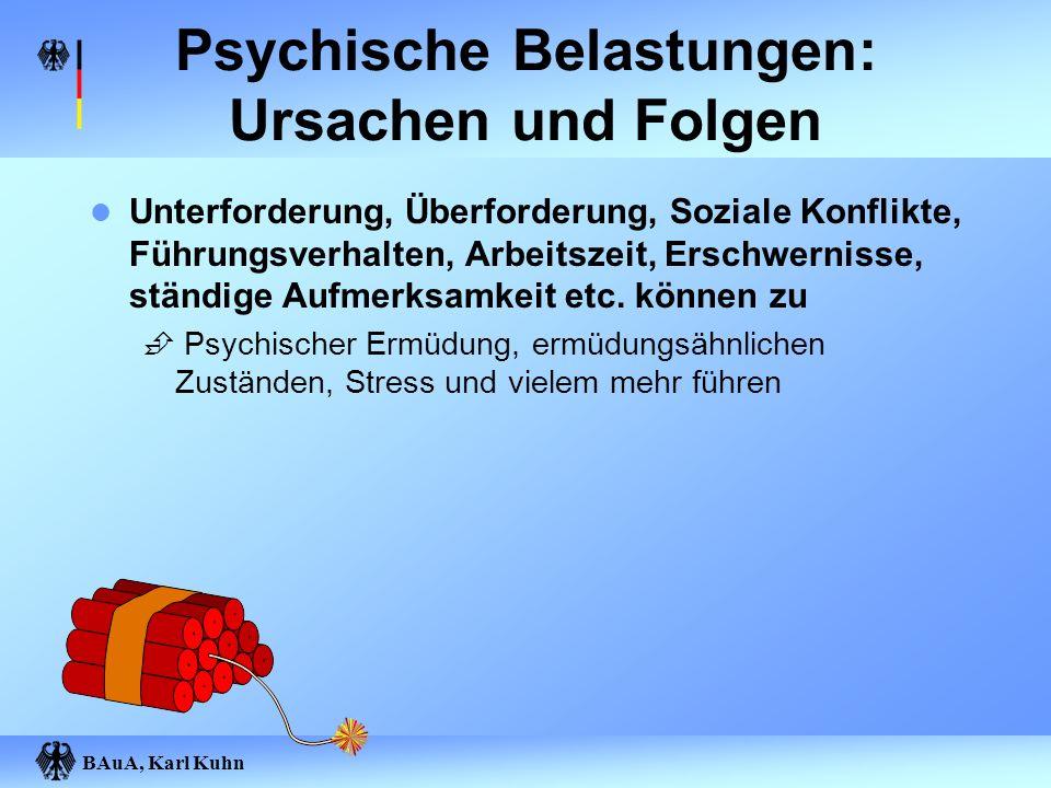 Psychische Belastungen: Ursachen und Folgen
