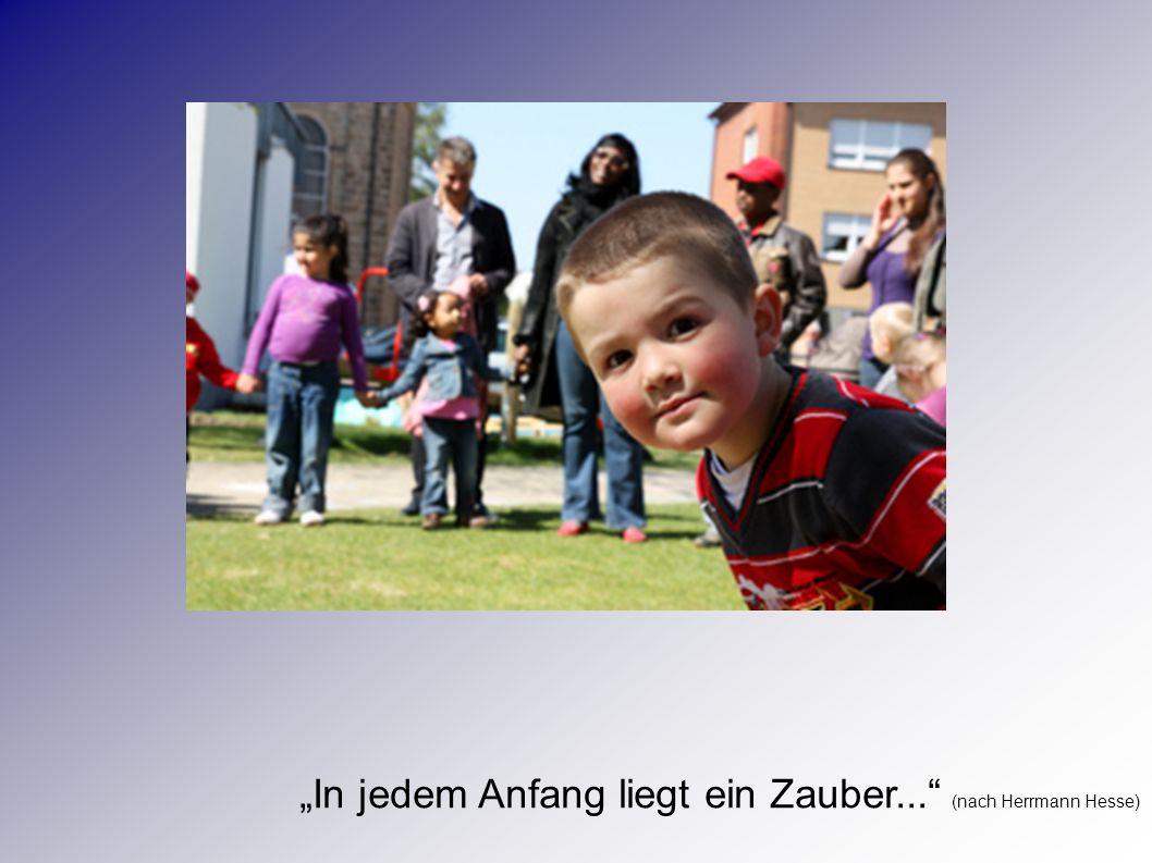 """""""In jedem Anfang liegt ein Zauber... (nach Herrmann Hesse)"""