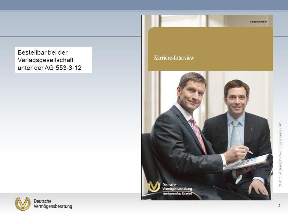 Bestellbar bei der Verlagsgesellschaft unter der AG 553-3-12
