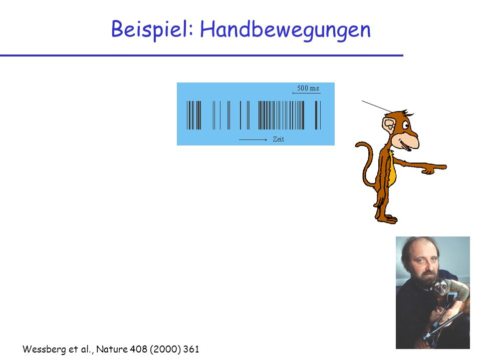 Beispiel: Handbewegungen