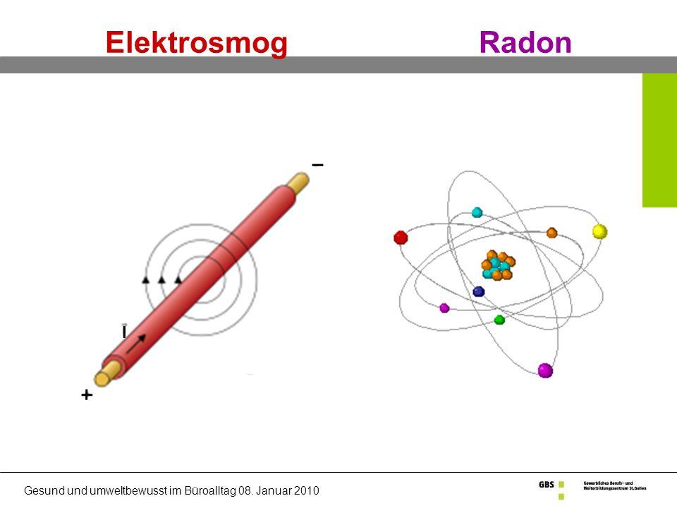 Elektrosmog Radon I j