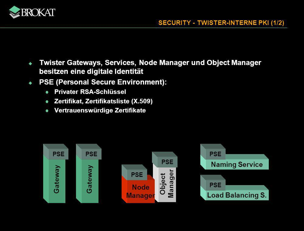 SECURITY - TWISTER-INTERNE PKI (1/2)