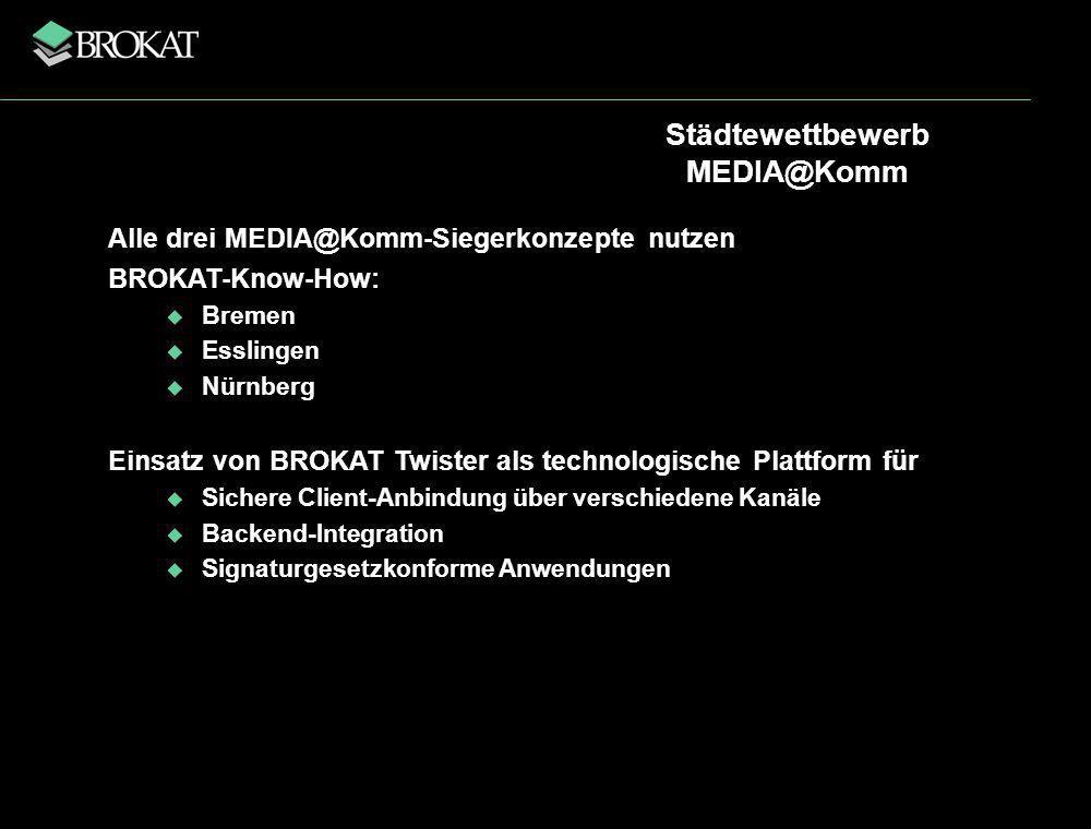 Städtewettbewerb MEDIA@Komm