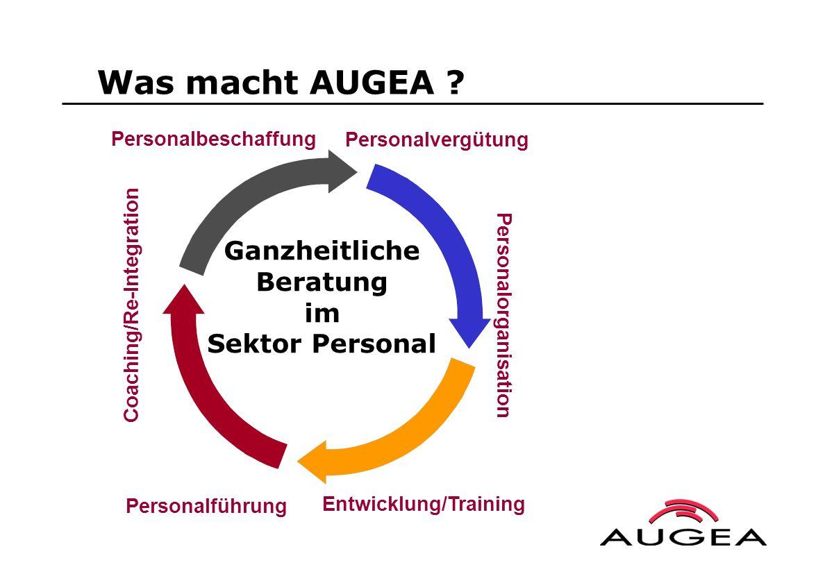 Was macht AUGEA Ganzheitliche Beratung im Sektor Personal