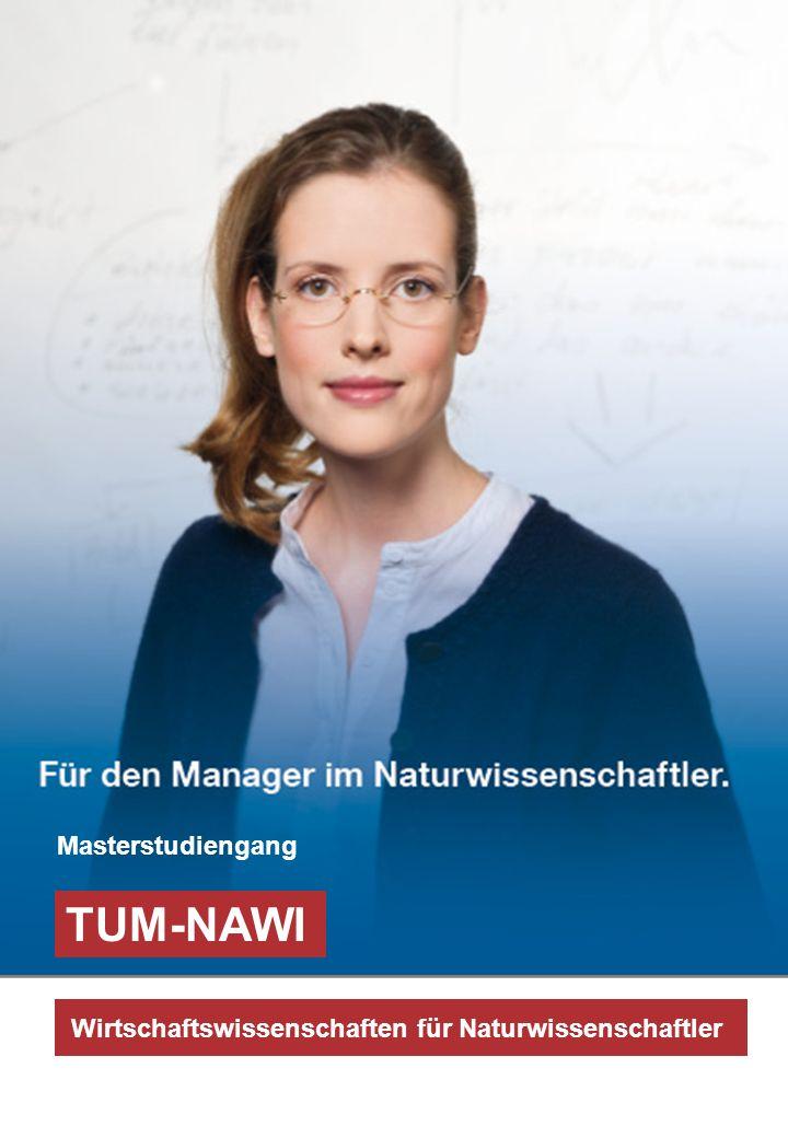 TUM-NAWI Masterstudiengang