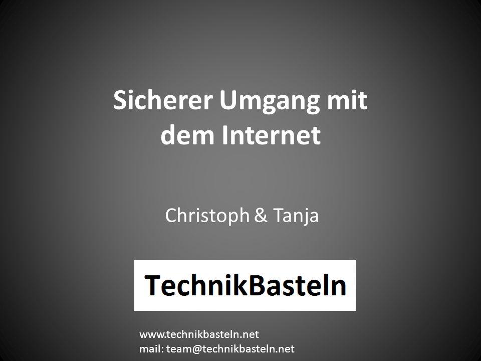 Sicherer Umgang mit dem Internet