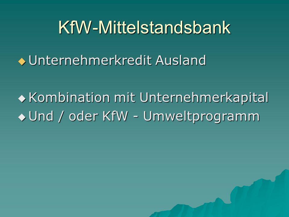 KfW-Mittelstandsbank