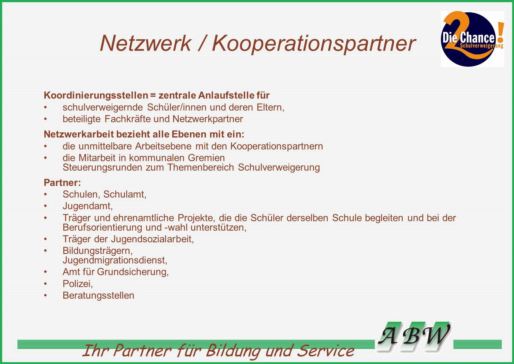 Netzwerk / Kooperationspartner