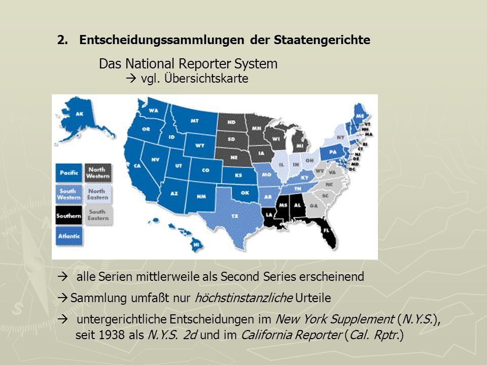 Das National Reporter System
