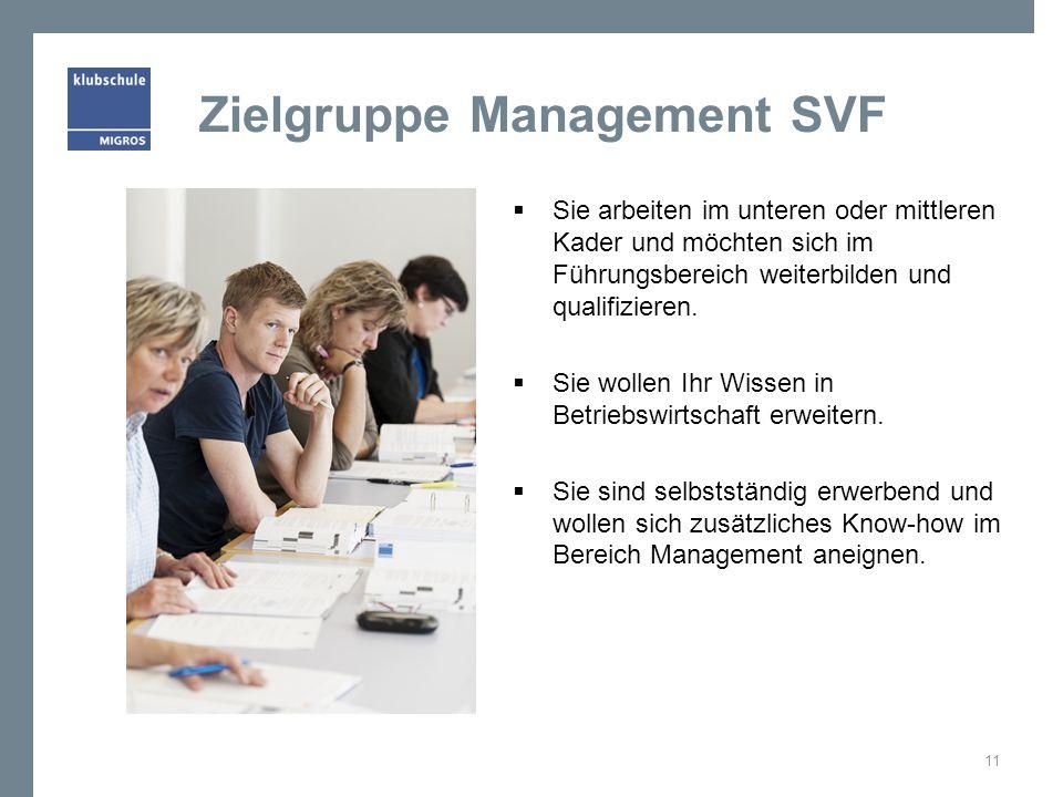 Zielgruppe Management SVF