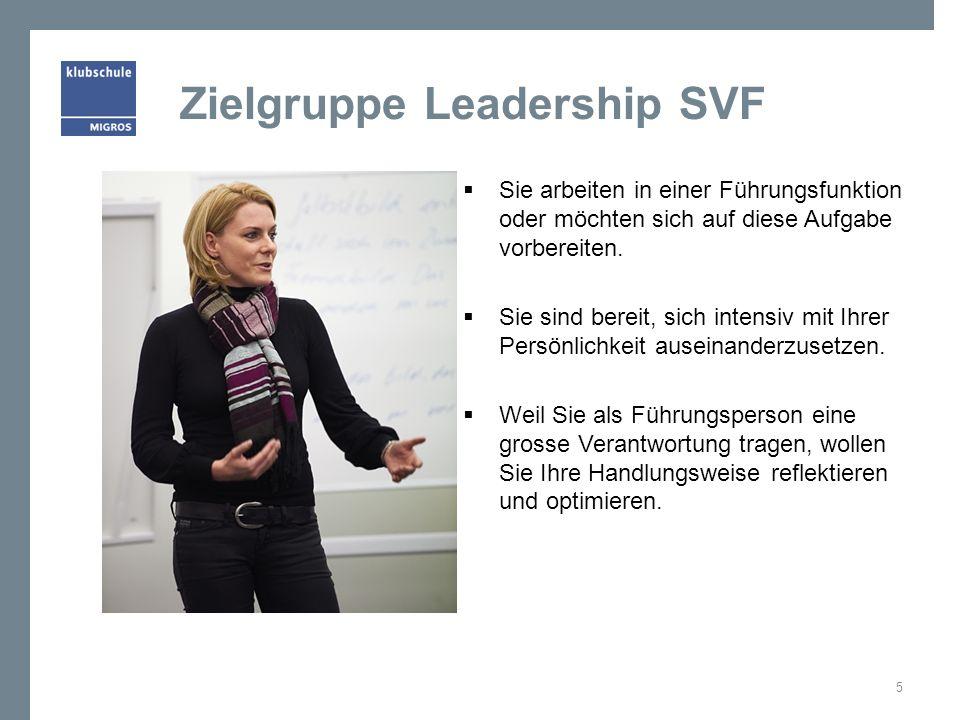 Zielgruppe Leadership SVF