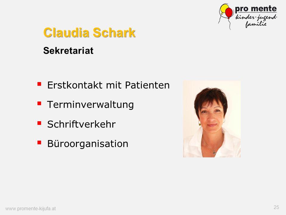 Claudia Schark Sekretariat
