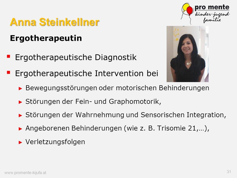 Anna Steinkellner Ergotherapeutin
