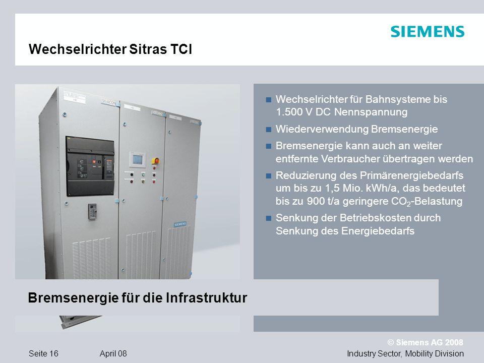 Wechselrichter Sitras TCI