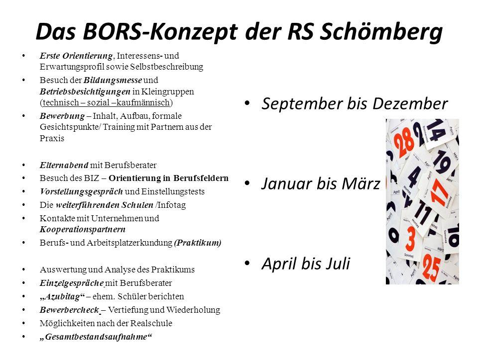 Das BORS-Konzept der RS Schömberg