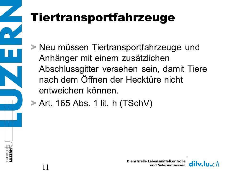 Tiertransportfahrzeuge