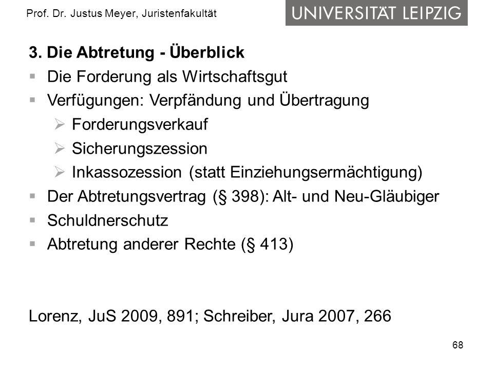 Prof. Dr. Justus Meyer, Juristenfakultät - ppt herunterladen