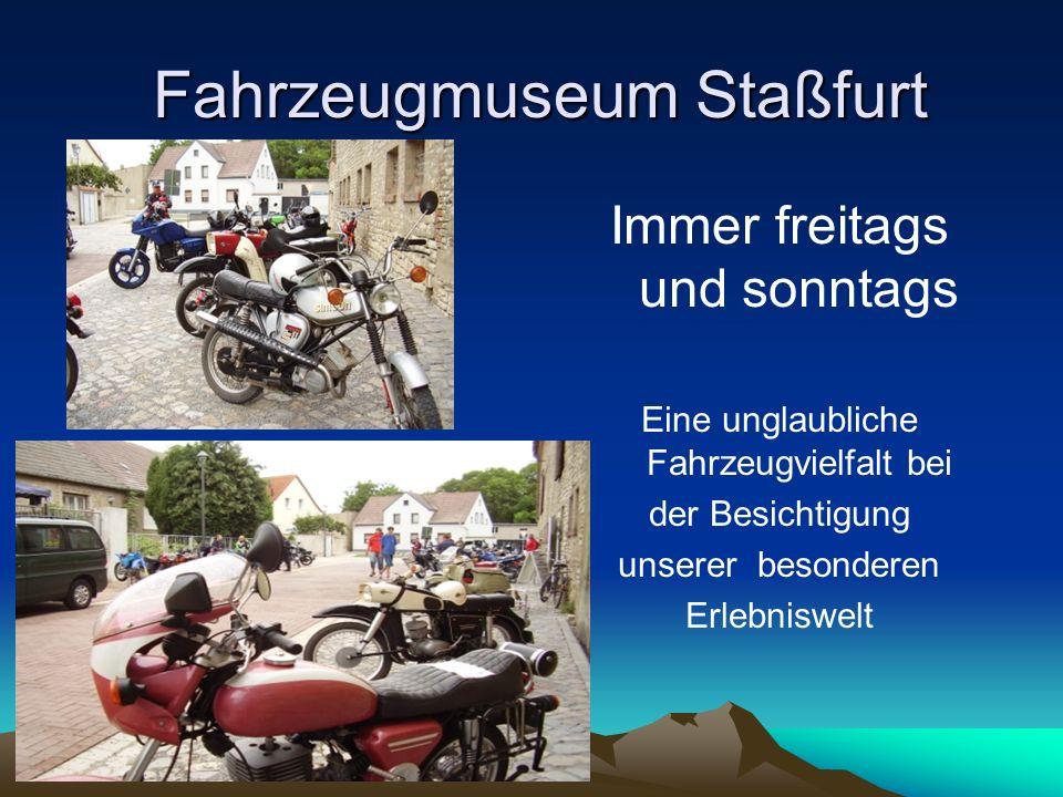 Fahrzeugmuseum Staßfurt