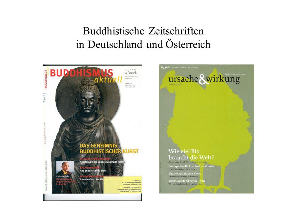 Buddhistische Zeitschriften in Deutschland und Österreich