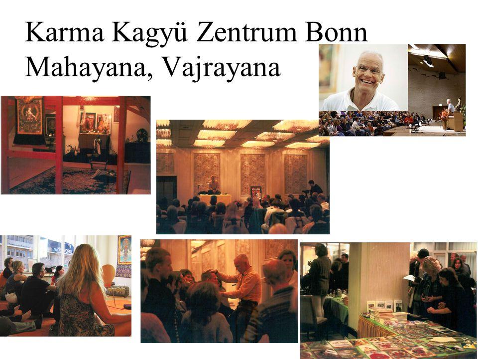 Karma Kagyü Zentrum Bonn Mahayana, Vajrayana