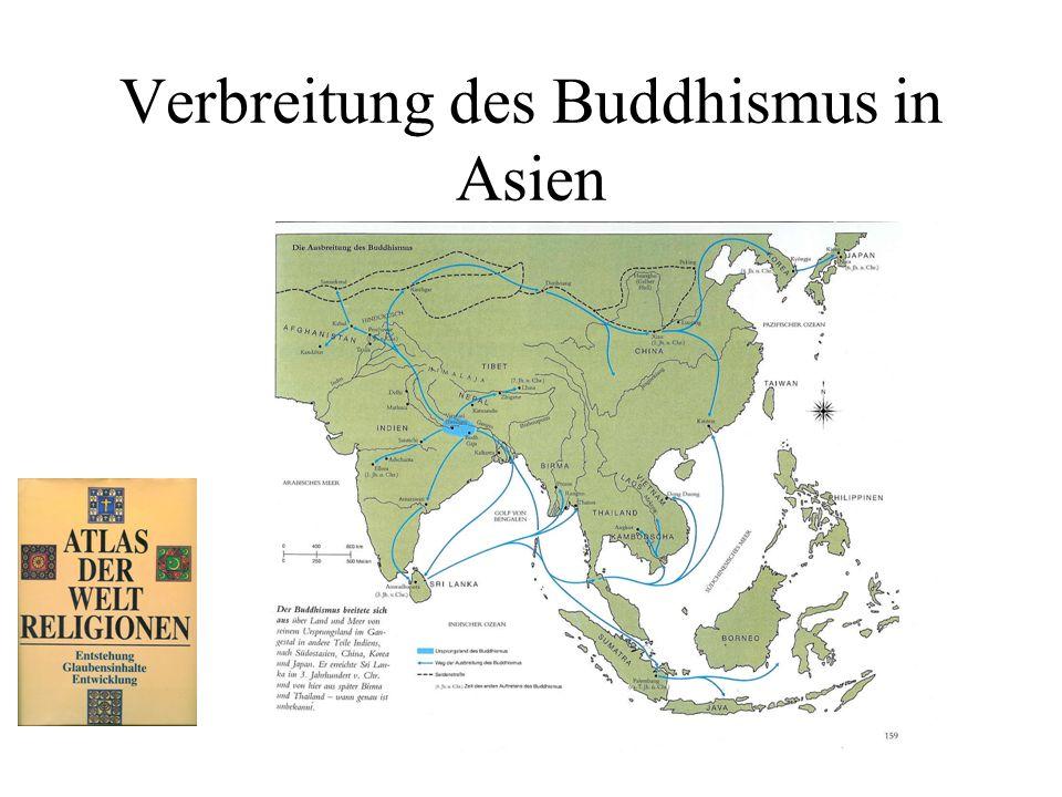 Verbreitung des Buddhismus in Asien